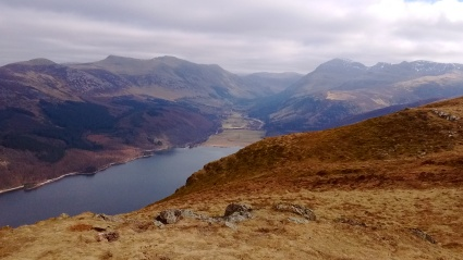 Ennerdale Water from Crag Fell