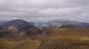 8.3 Buttermere from Green Gable