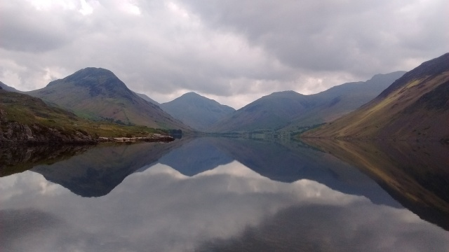 9.1 Wast Water reflection