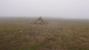 16.3 cairn in the mist