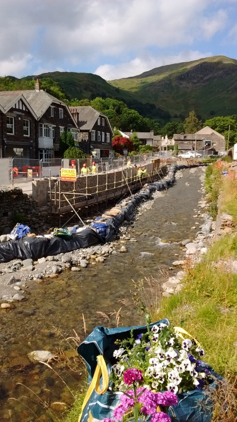 16.4 Flood repairs in Glenridding