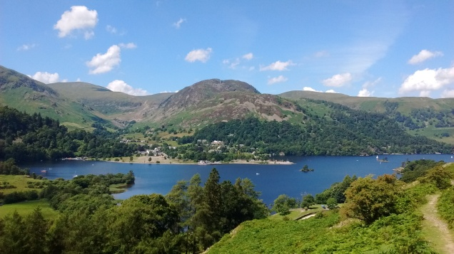 16.5 Glenridding across Ullswater